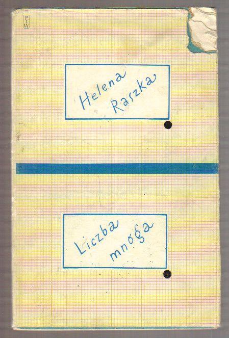 Liczba mnoga  Helena Raszka  ANTYKWARIAT Humanitas
