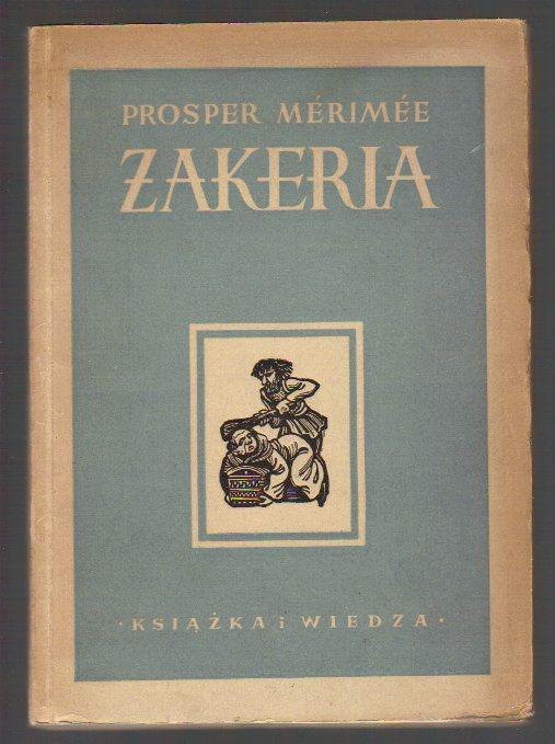 Znalezione obrazy dla zapytania Prosper Merimee : Żakeria
