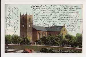 Heworth. St.Marys Church..ok.1910..z obiegu