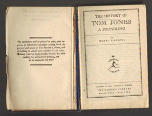 Tom Jones a Foundling
