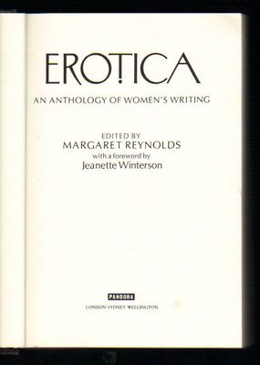 Erotica: Anthology of Women's Writings