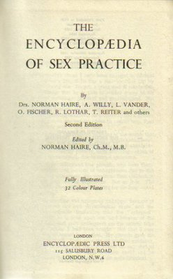 The Encyclopaedia of Sex Practice